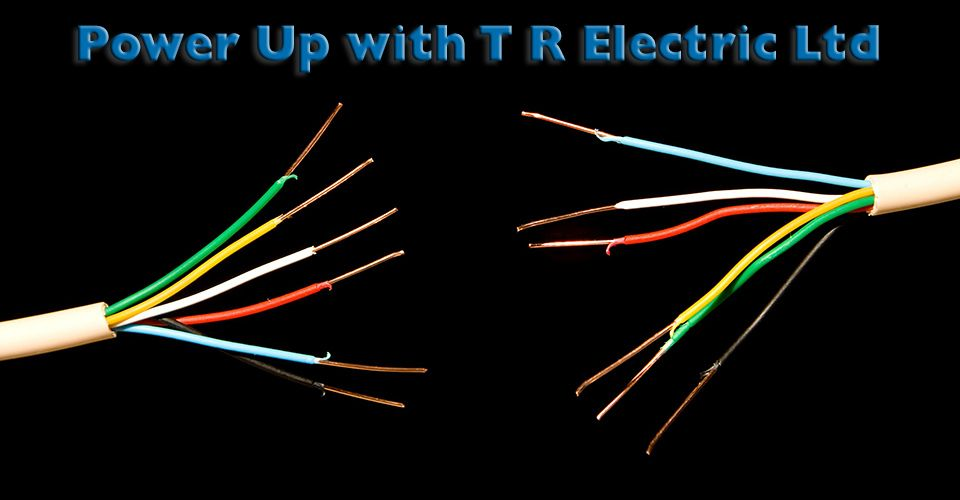 Power Up with T R Electric Ltd | wires